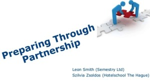 Preparing through partnership